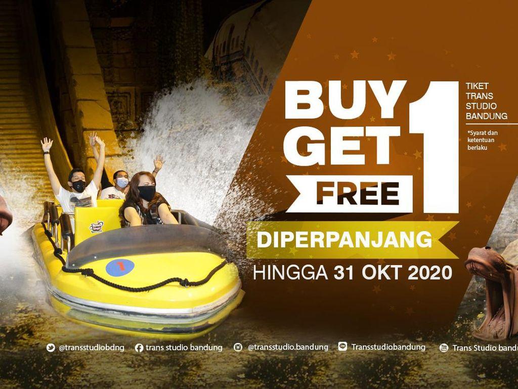Promo Tiket Buy 1 Get 1 Free Trans Studio Bandung Diperpanjang!