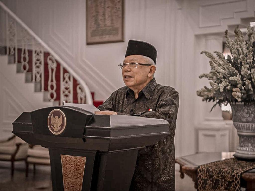 HUT Ke-75 TNI, Maruf Apresiasi Peran TNI Tanggulangi COVID-19
