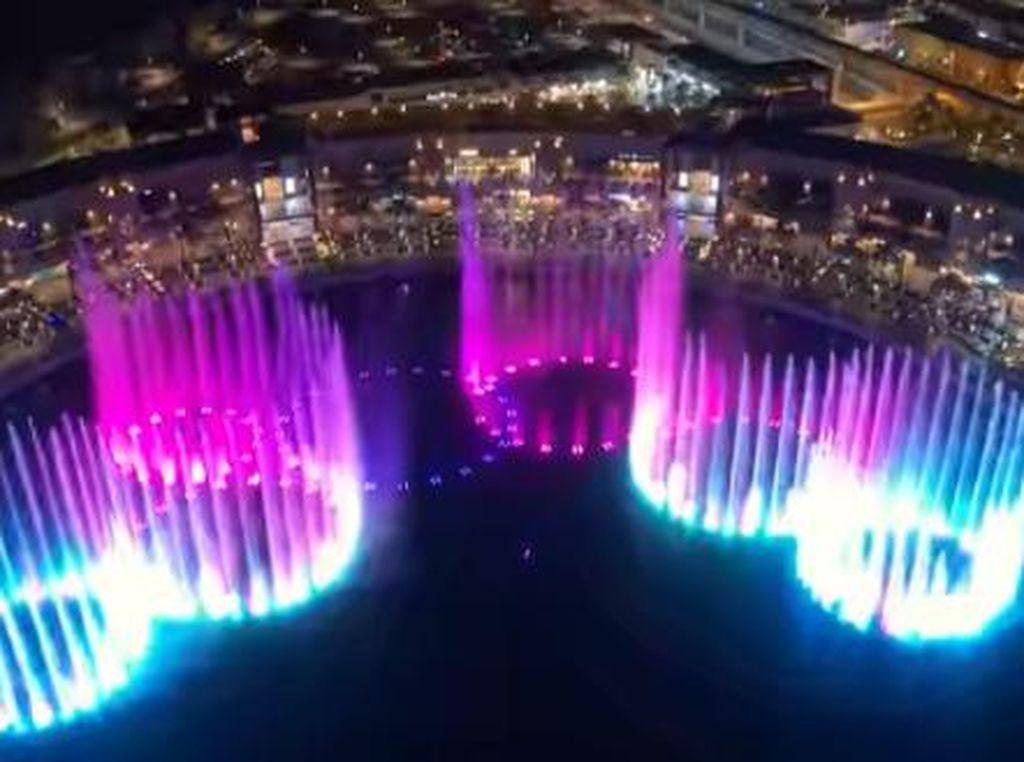 Dubai Akan Luncurkan Air Mancur Terbesar di Dunia