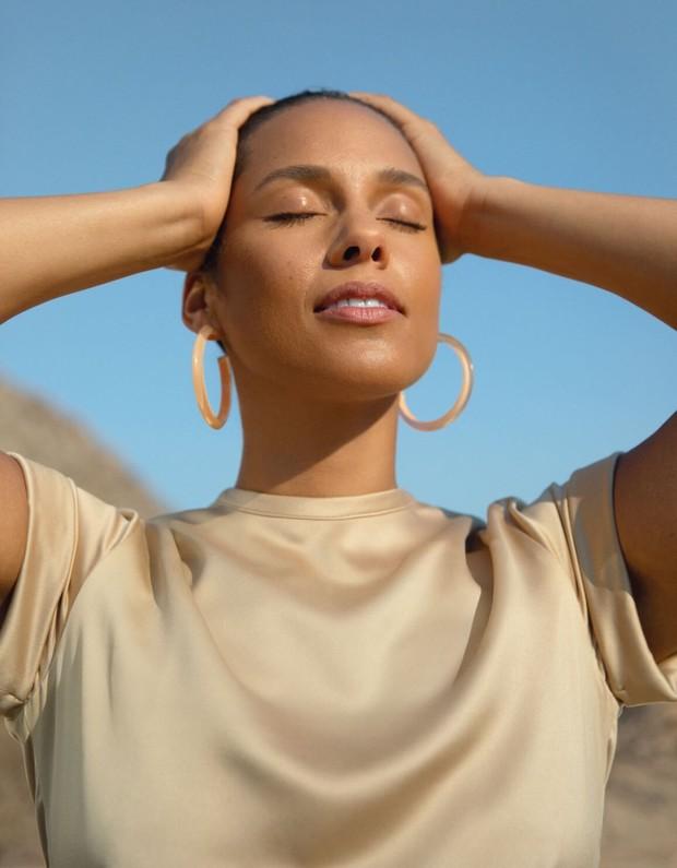 Bisnis skincare Alicia Keys ini sudah memiliki situs resmi yang diberi nama keyssoulcare.com