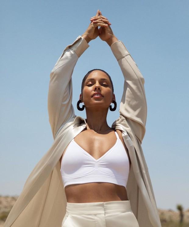 Produk skincare Alicia Keys akan diluncurkan akhir tahun 2020