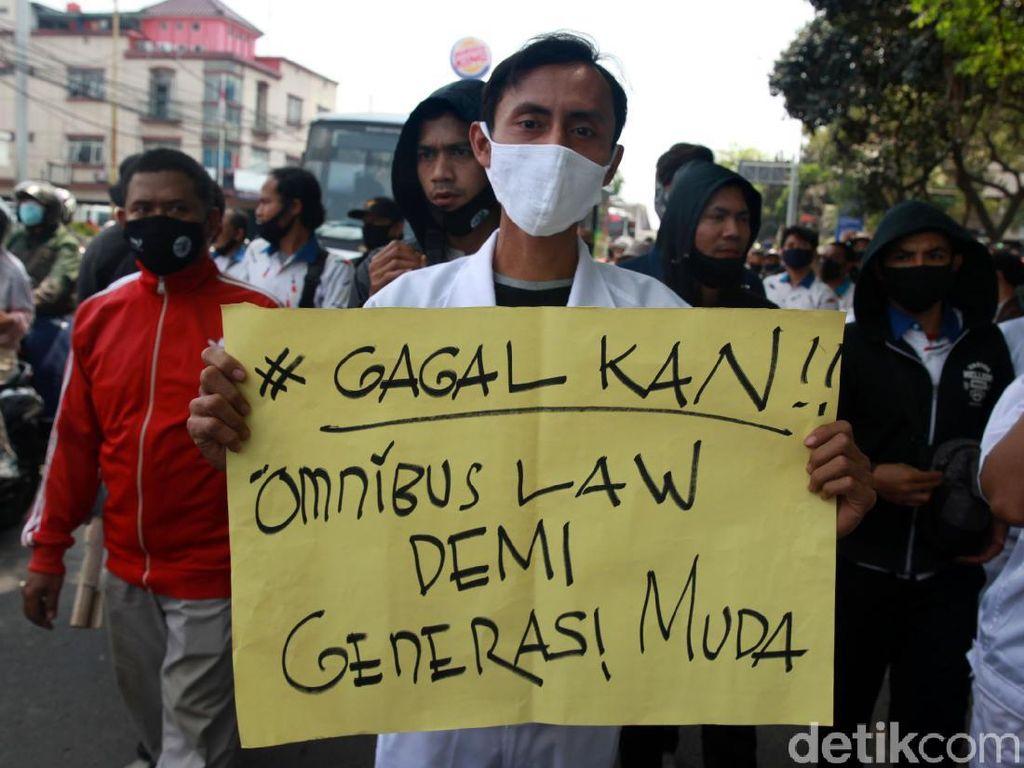 Sebaran Lokasi 2 Juta Buruh yang Mogok Nasional Tolak Omnibus Law 6-8 Oktober