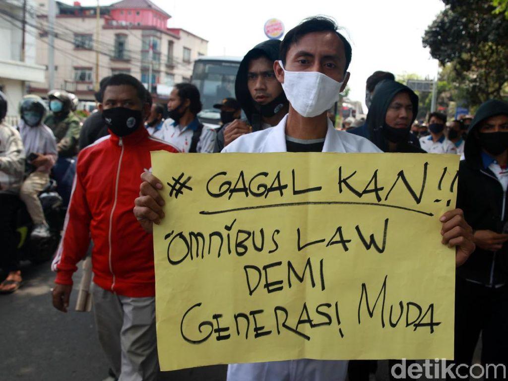 BEM SI Gelar Demo Nasional Protes Omnibus Law UU Cipta Kerja 8 Oktober