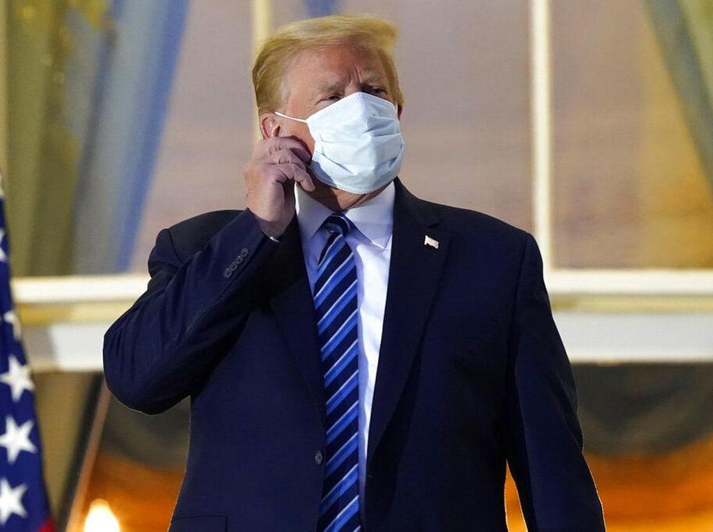 Cuma Dirawat 3 Hari, Donald Trump Masih Menulari COVID-19?