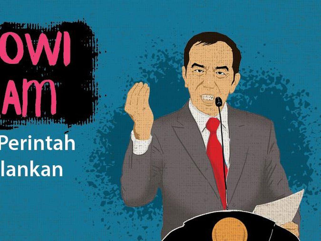 Geramnya Jokowi karena Perintahnya Tak Dijalankan