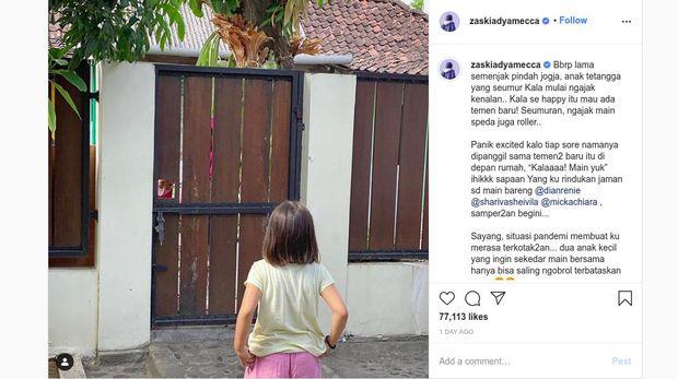 Instagram Zaskia Adya Mecca