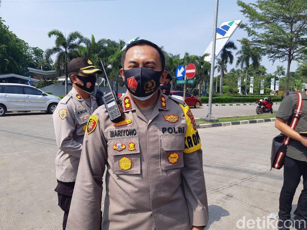 Akses Serang-Jakarta Ditutup Buruh, Polisi Lakukan Rekayasa Lalin