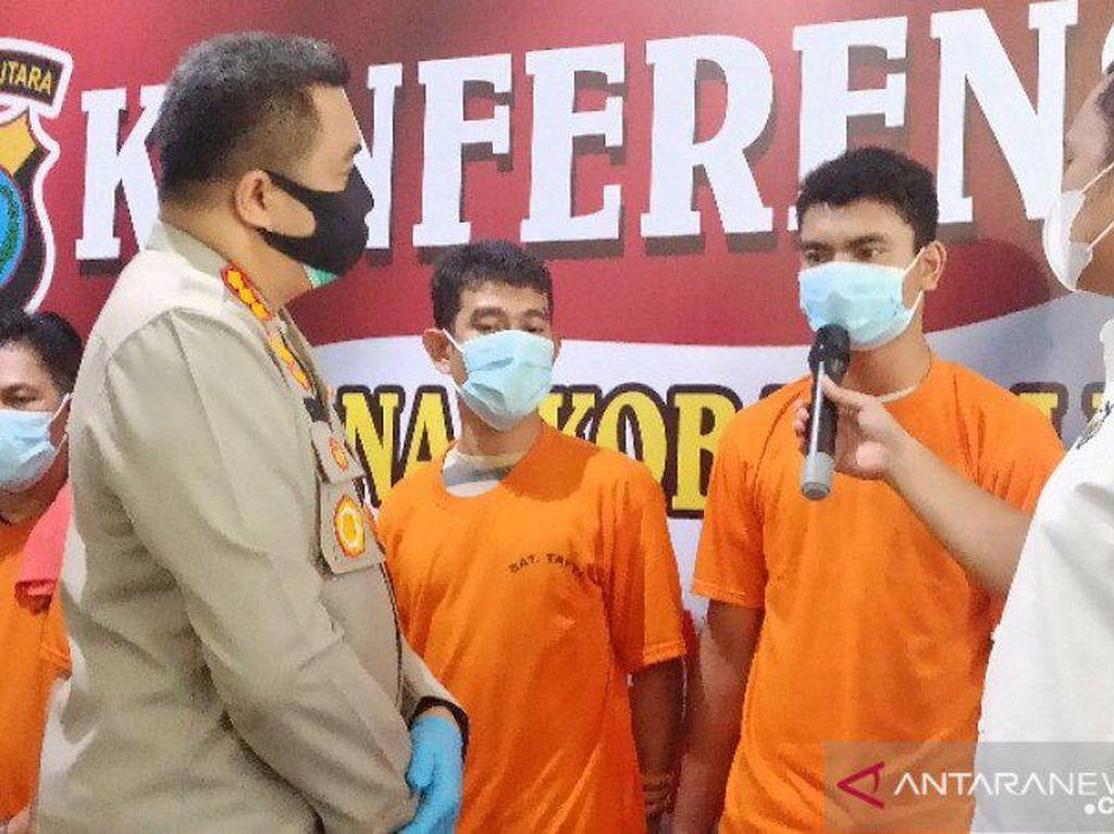 Polisi Sita 5 Kg Sabu dari Kamar Sekda Mes Pemko Tanjungbalai di Medan