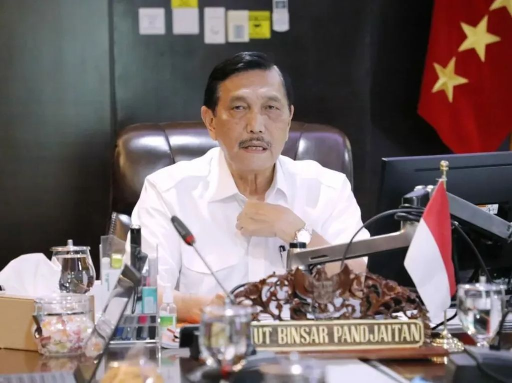 Video Pulang dari AS, Luhut Bawa Kerja Sama Pfizer-Bio Farma