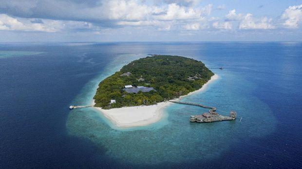 Pemandangan resor Soneva Fushi di Maldives. (Dok. Soneva Fushi)
