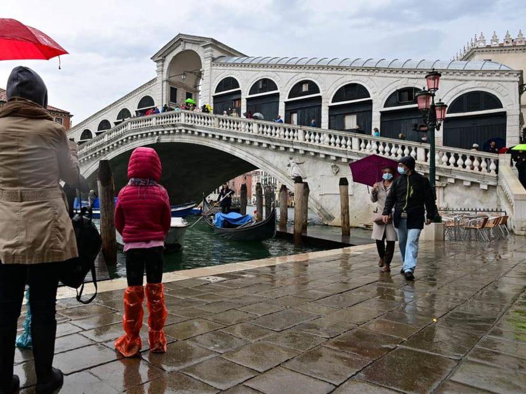 Pertama Kali Dalam 1.200 Tahun, Venesia Berhasil Mencegah Banjir