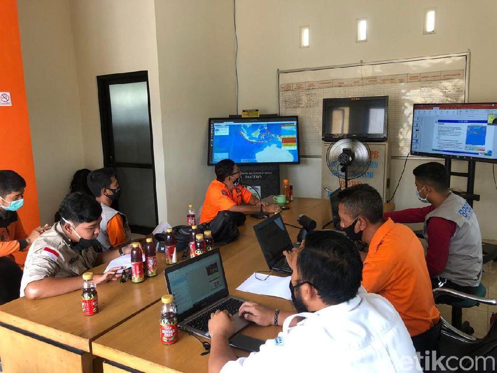 BMKG Gelar Simulasi Virtual Gempa Bumi M 9.1 Berpotensi Tsunami di Malang