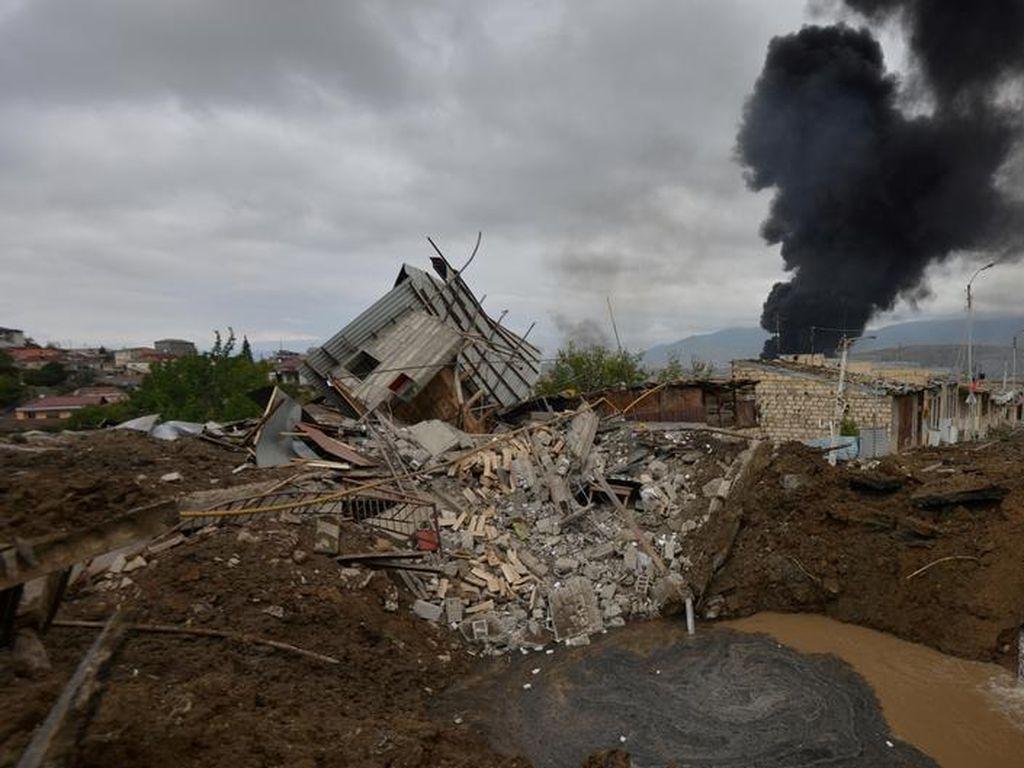 Suriah Benarkan Militan Bayaran Bertempur di Nagorno-Karabakh