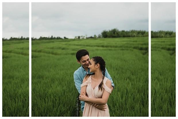 Andrew Andika dan Tengku Dewi Putri foto prewedding di Bali