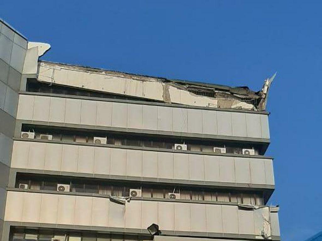 4 Fakta Ambruknya Atap Gedung Lembaga Sensor Film
