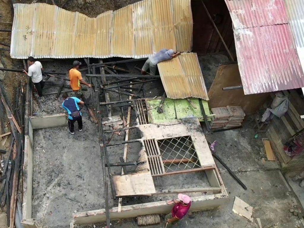 Kisah Janda Anak 3 di Aceh, Rumah Ludes Terbakar Kini Dibangun oleh TNI