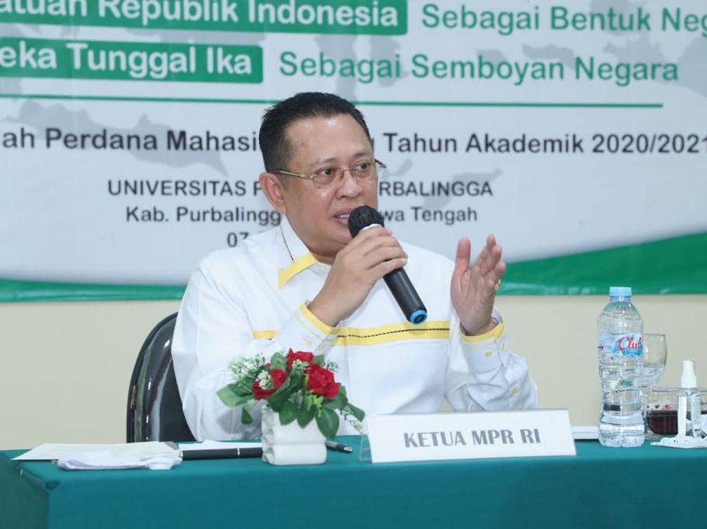 Kuliah Umum Perdana UNPERBA, Ketua MPR Bekali Materi 4 Pilar