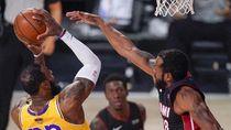 Final NBA 2020: LA Lakers Menangi Gim Keempat, di Ambang Gelar Juara