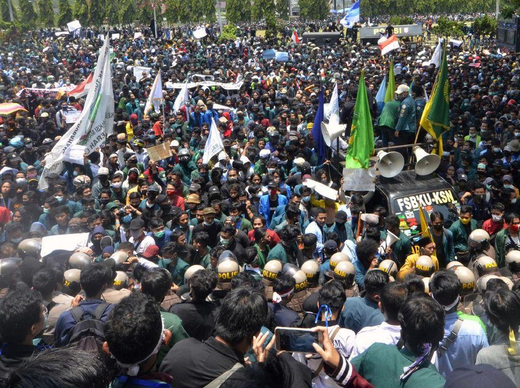 KSPI Bakal Aksi di DPR Tuntut Legislative Review Omnibus Law