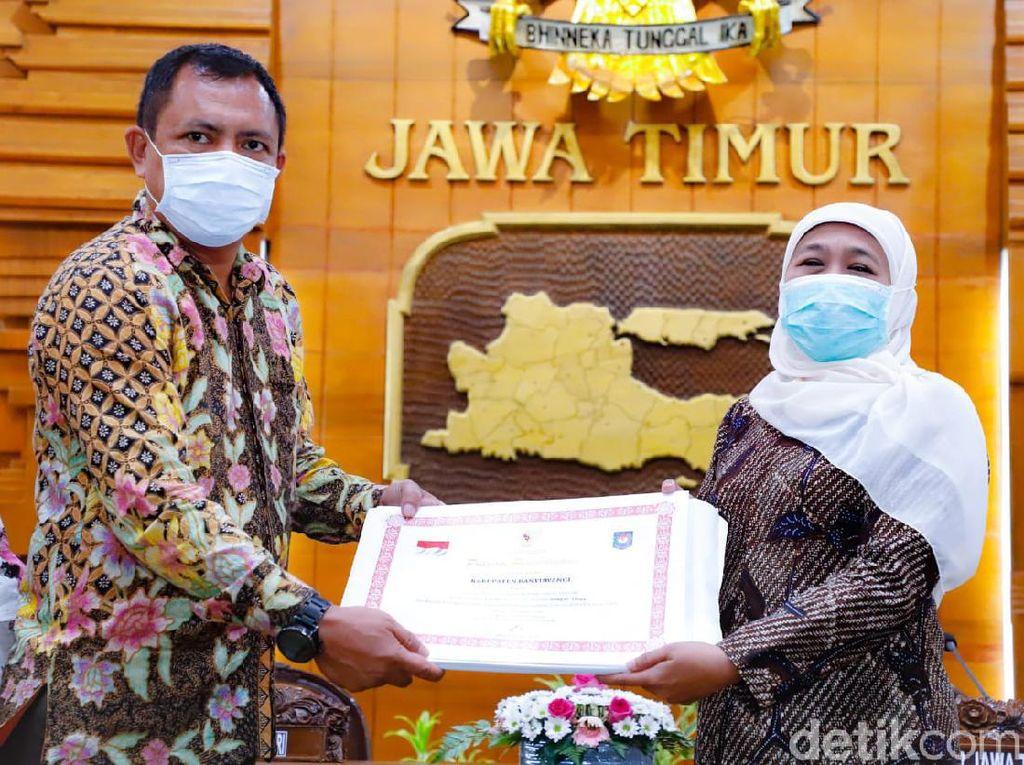 Jawa Timur Raih Prestasi Kinerja Tertinggi 9 Kali Berturut-turut
