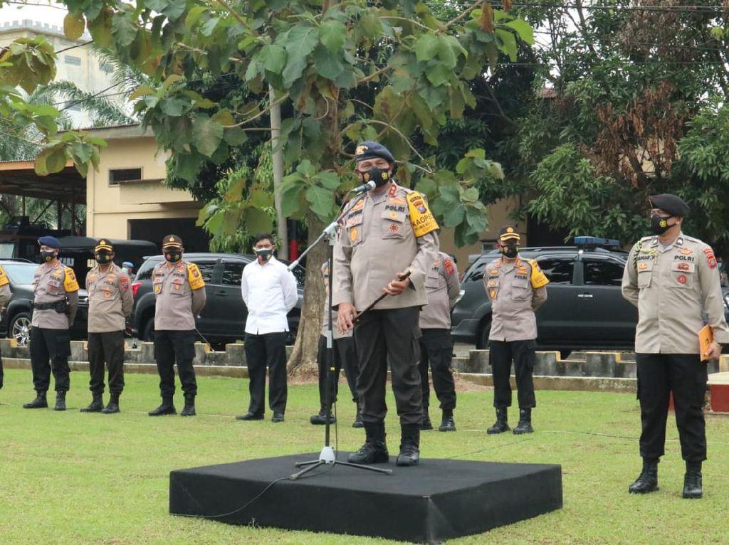 1 SSK Brimob Sumut Dikirim ke Jakarta, Bantu Pengamanan Usai UU Ciptaker Sah