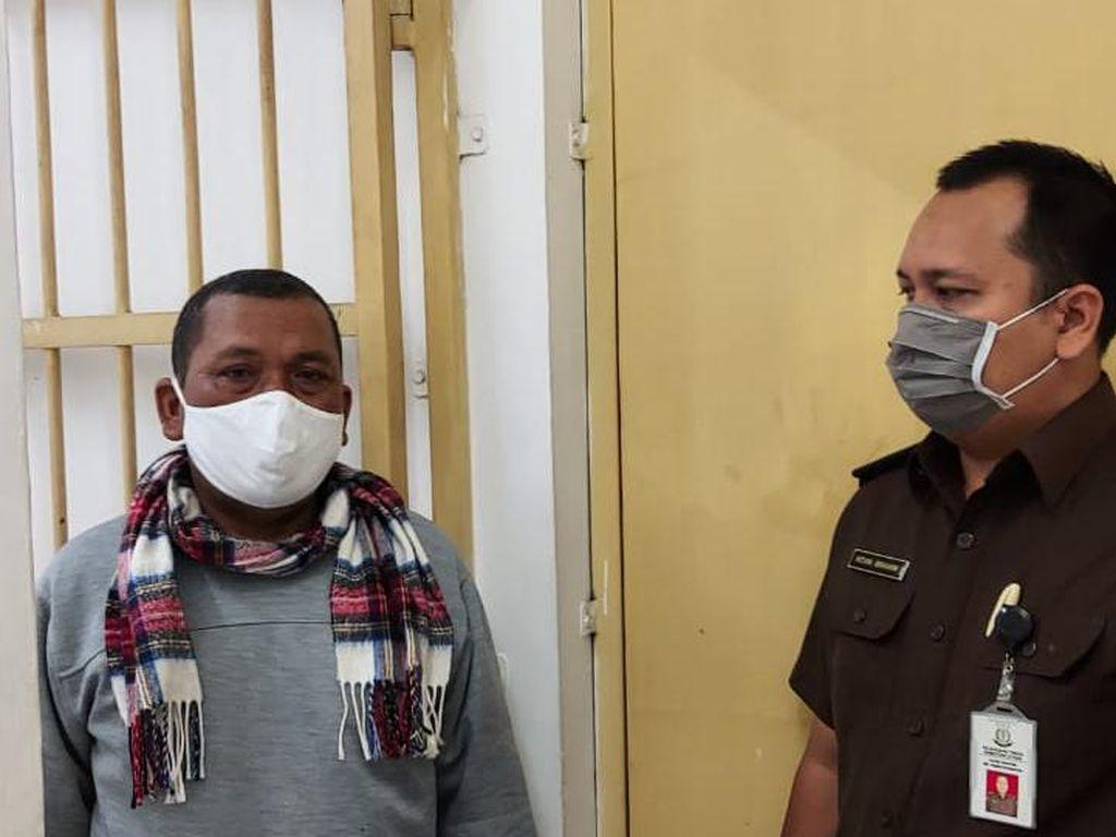 Kejati Sumut Tangkap Hotman Buron Kasus Korupsi Rp 731 Juta Saat Tertidur