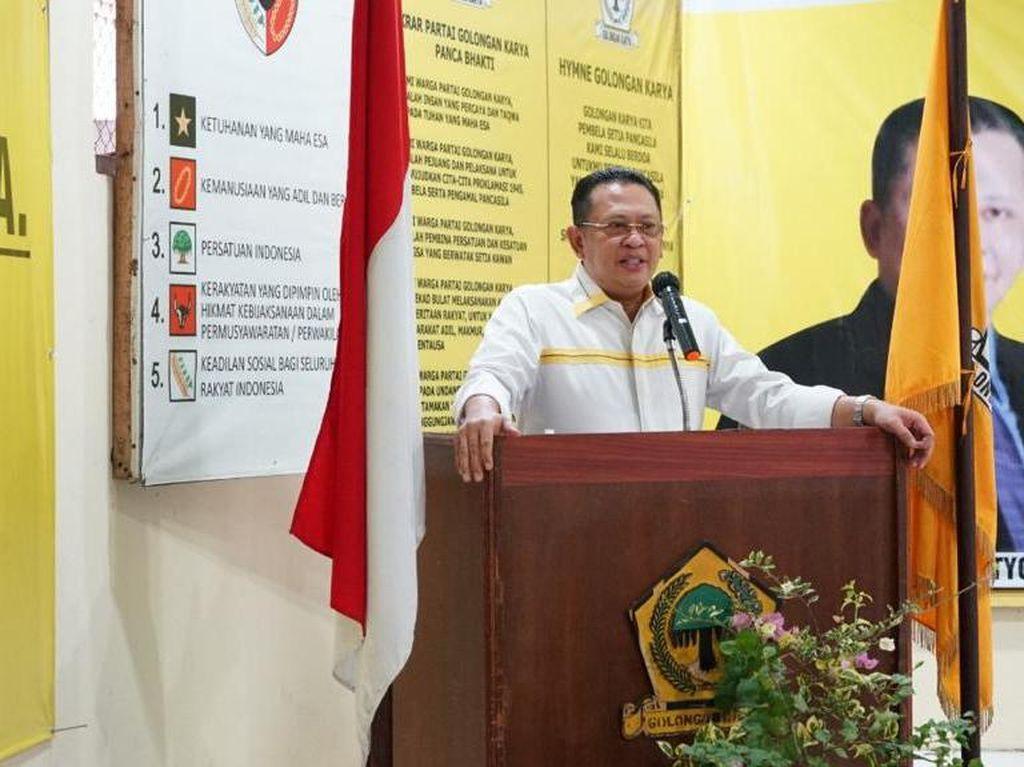 Ketua MPR Minta Masyarakat Tidak Percaya Hoax Terkait Omnibus Law