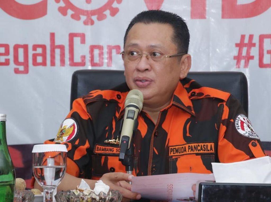 Ketua MPR Dorong Pemuda Pancasila Jadi Organisasi Berbasis Big Data