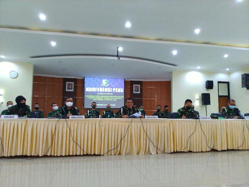 Total 74 Prajurit TNI Jadi Tersangka Penyerangan Polsek Ciracas