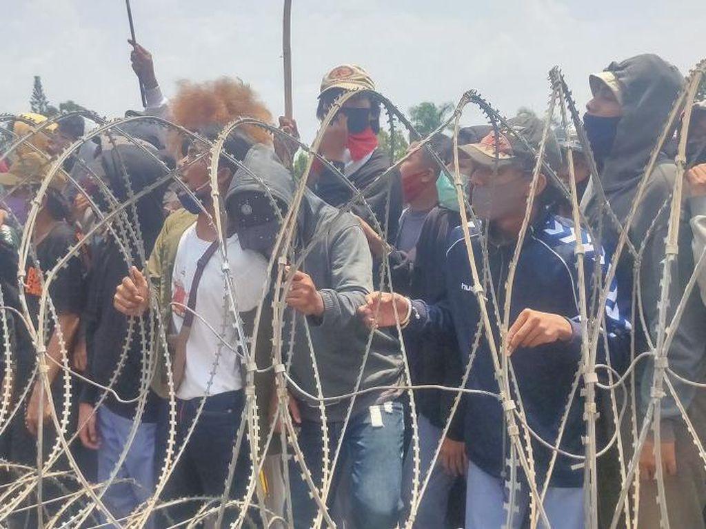 10 Orang Ditahan Usai Demo Ricuh di Lampung: 2 Kasus Narkoba, 8 Perusakan