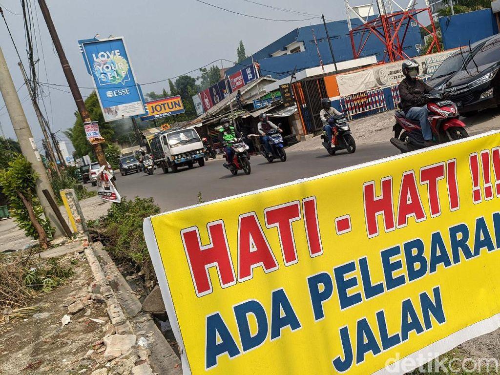Pelebaran Jalan Bhayangkara Serpong