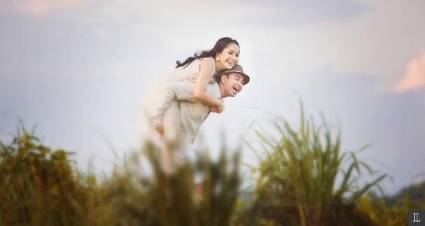 Kumpulan Foto Manis Dan Romantis Artis Indonesia Prewedding Di Bali