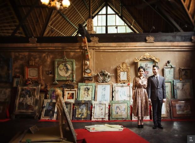 Raffi Ahmad dan Nagita Slavina foto prewedding di Bali