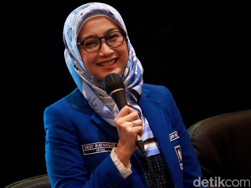 Artis Desy Ratnasari Resmi Jadi Ketua DPW PAN Jawa Barat