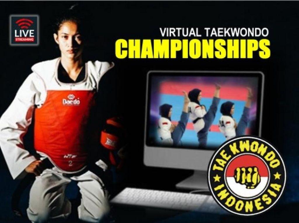 Atlet Indonesia Raih 4 Emas di Kejuaraan Taekwondo Virtual