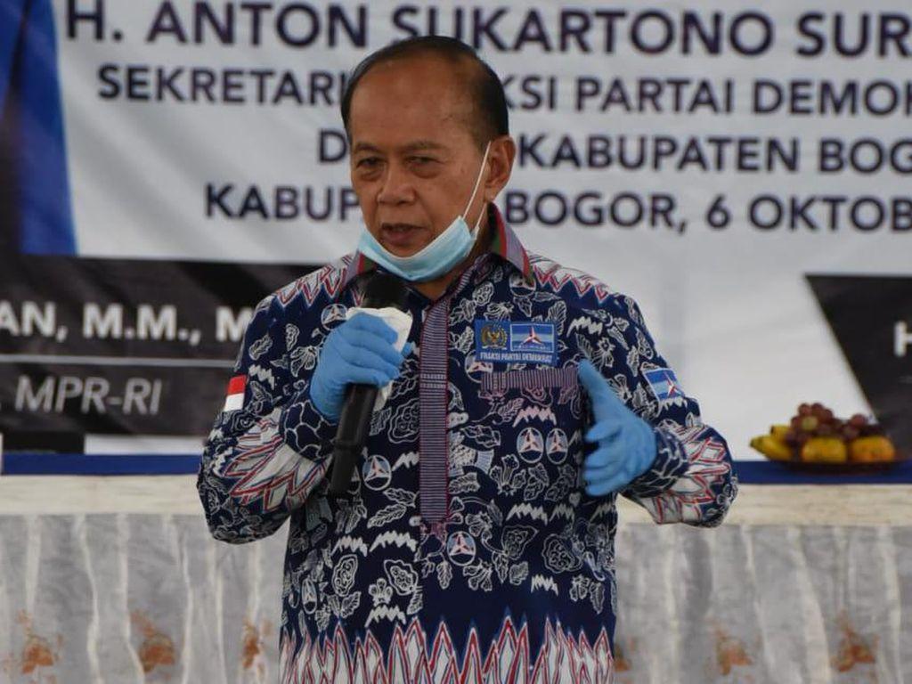 Sosialisasi 4 Pilar di Bogor, Syarief Hasan Bicara soal Wewenang MPR