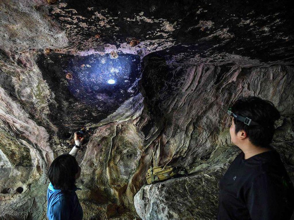 Dibantu Aplikasi di HP, Arkeolog Thailand Temukan Lukisan Kuno Dalam Gua