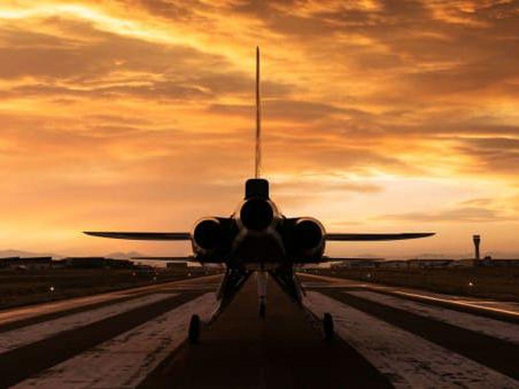 Rupa Prototipe Pesawat Supersonik Terbaru