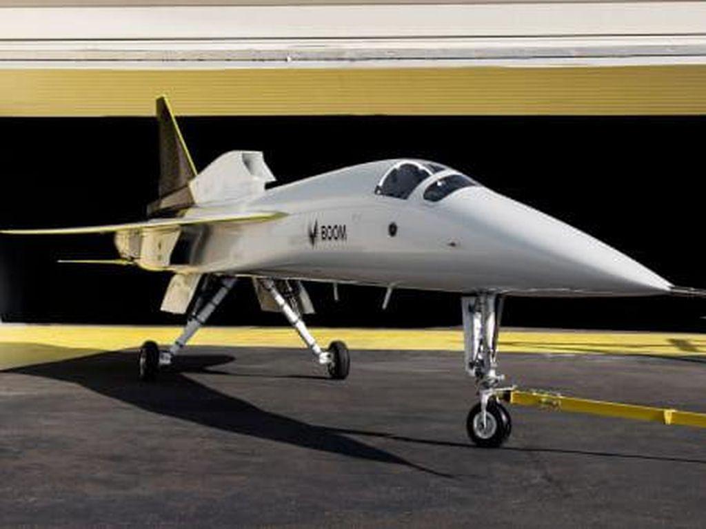 Penerbangan Supersonik Tiba, Boom Luncurkan Pesawat XB-1
