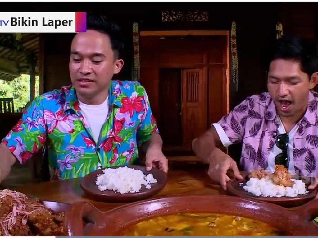 Bikin Laper! Pedas Mantap Ayam Sambal Honje Plus Tongseng Kambing