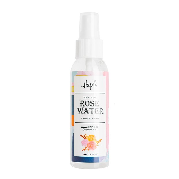 skincare ini terbuat dari 100% rose water