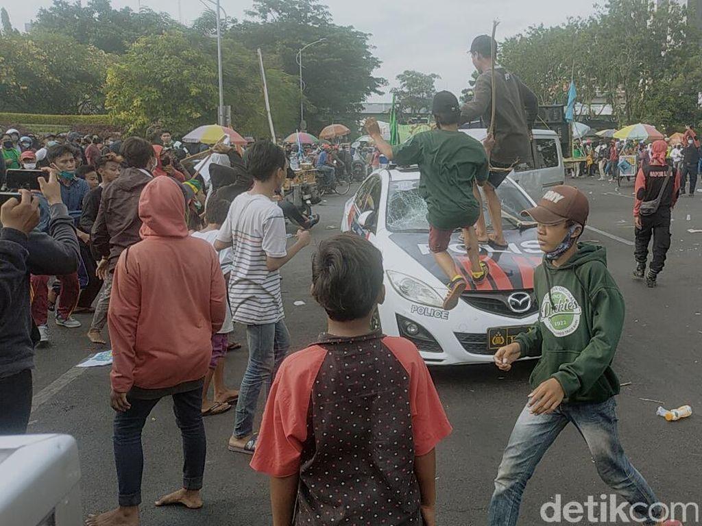 KontraS Sebut 7 Tersangka Demo Omnibus Law di Surabaya di Bawah Umur