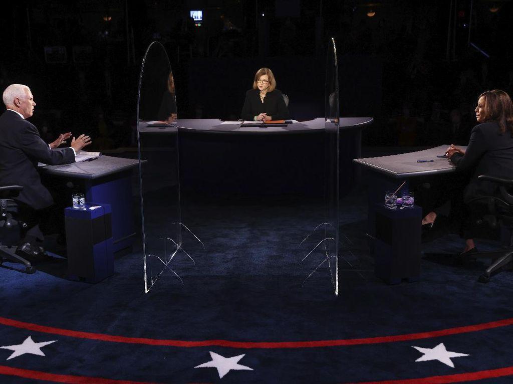 3 Momen Debat Panas Harris vs Pence Berebut Kursi Cawapres AS