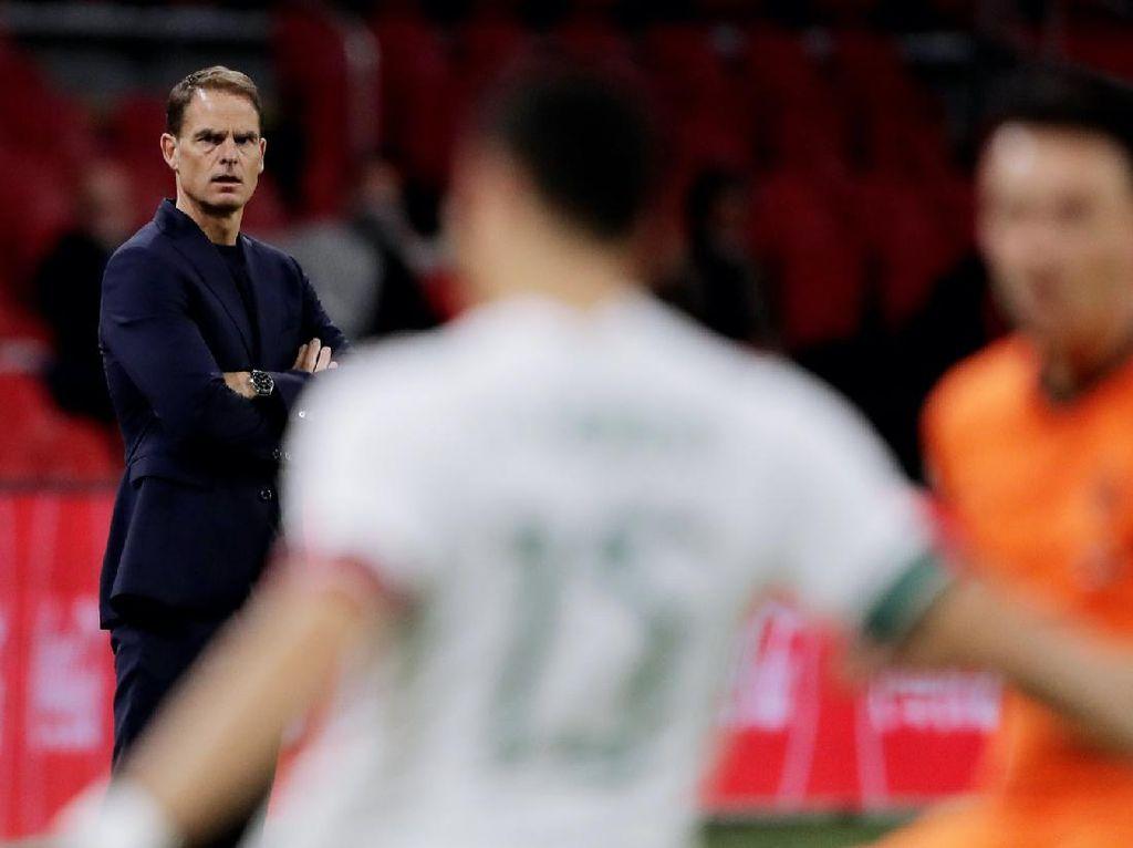 Belanda Vs Meksiko: Debut Frank de Boer, Oranje Kalah 0-1