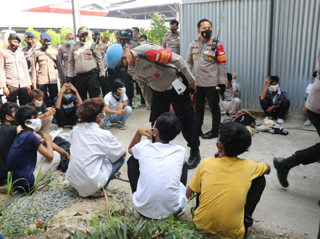 59 Pelajar Tangerang Hendak Demo Diamankan, 1 Bawa Tembakau Gorilla