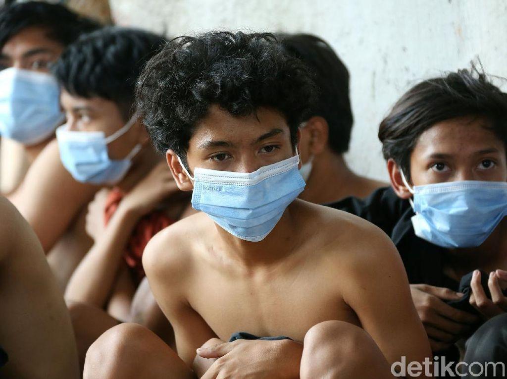 Hendak ke DPR, Puluhan Remaja Diamankan Polisi