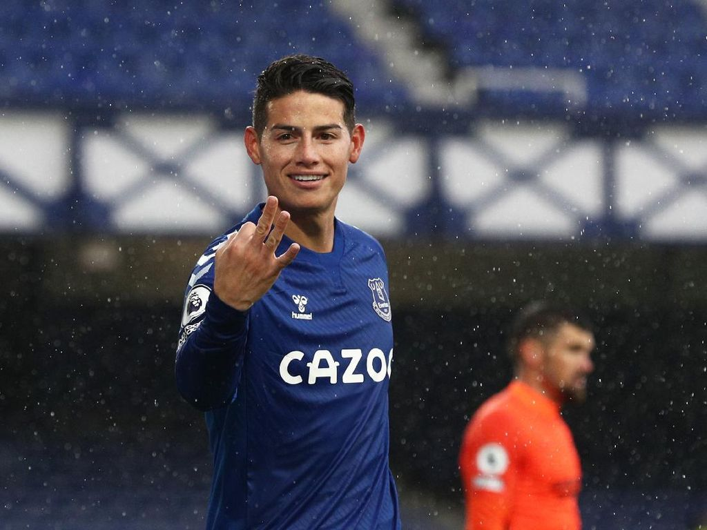 Petinggi Real Madrid Kesal sama Zidane akibat James Rodriguez?