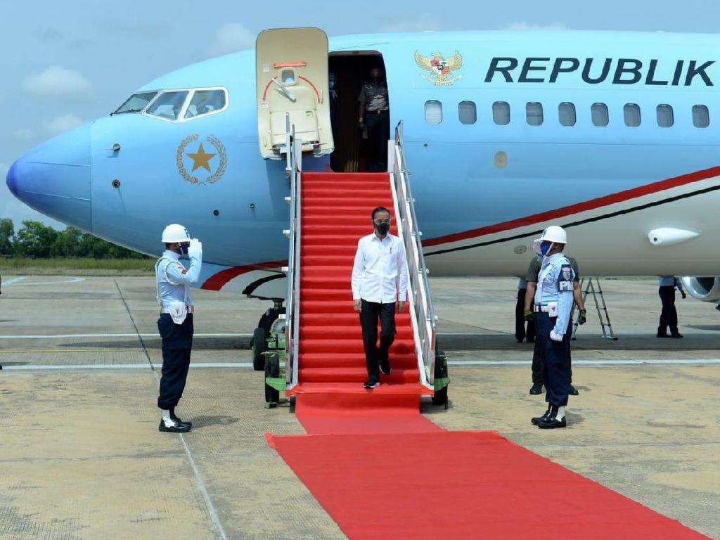 Jokowi Tinjau Lumbung Pangan di Kalimantan Tengah Hari Ini
