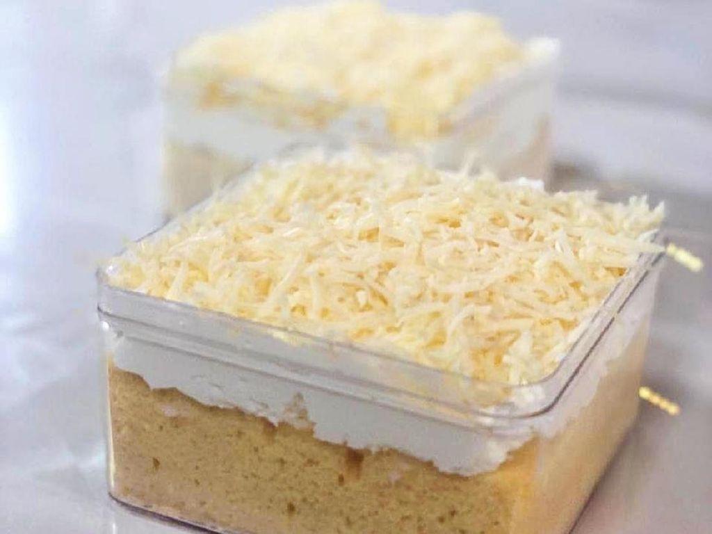 Masak Masak : Milk Bath Cake Box yang Gurih Legit