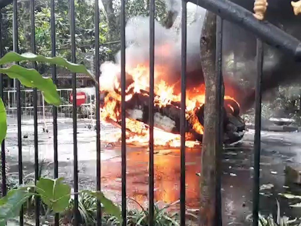 Polisi Tetapkan Dua Tersangka Baru Demo Ricuh Omnibus Law di Kota Malang